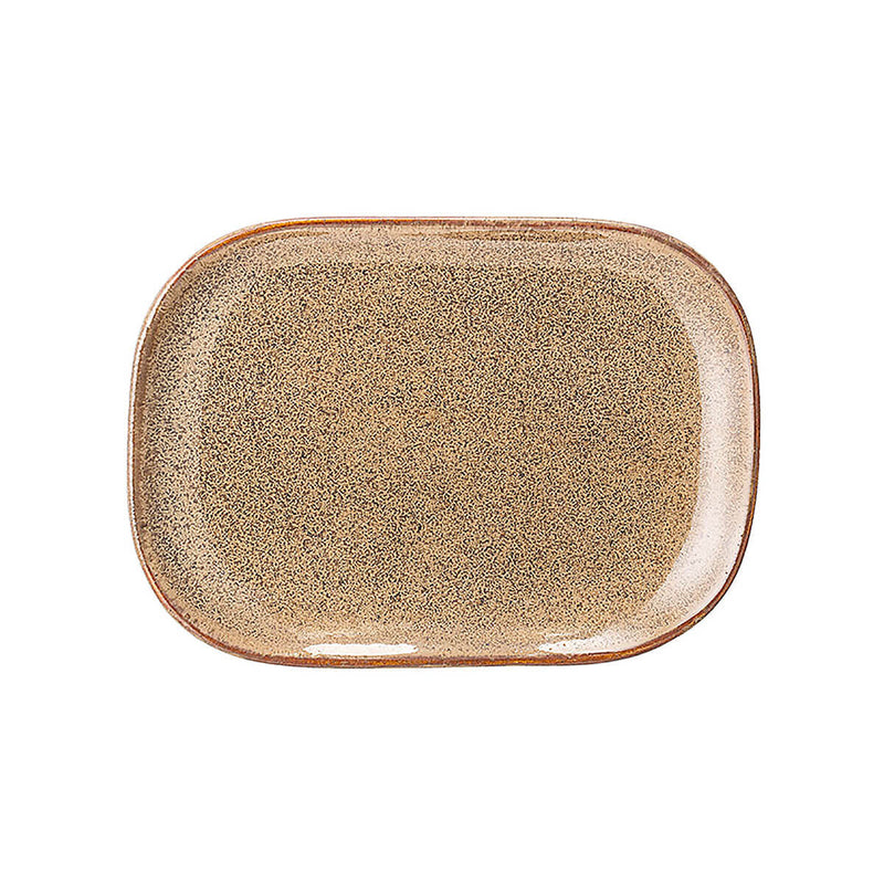 BLOOMINGVILLE Addison Serving Plate - Small Earth