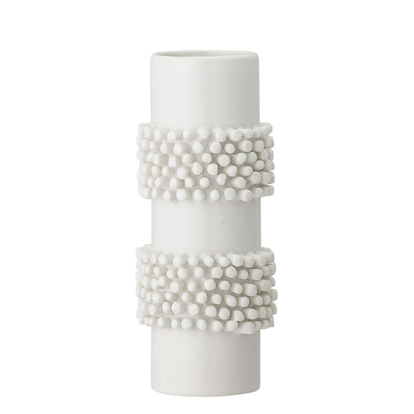 BLOOMINGVILLE - White Ceramic Vase