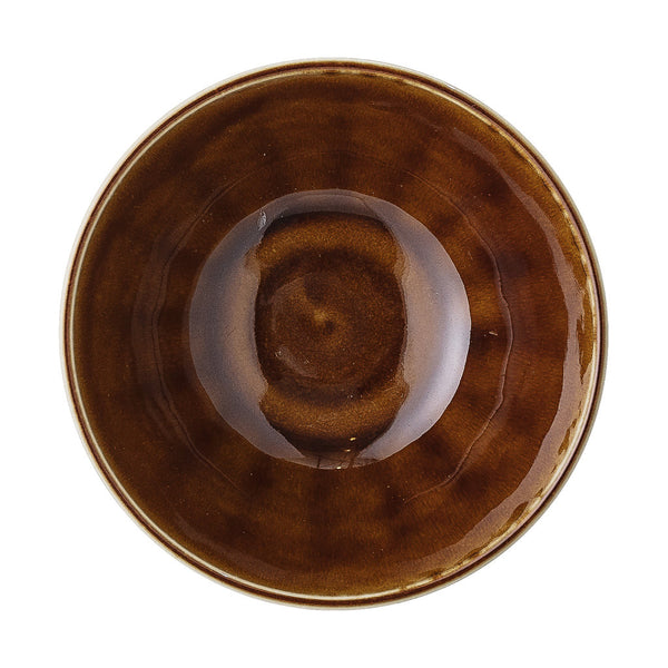 BLOOMINGVILLE Camellia Tea Bowl - Brown