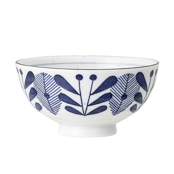 BLOOMINGVILLE Camellia Tea Bowl - Spot - Leaf