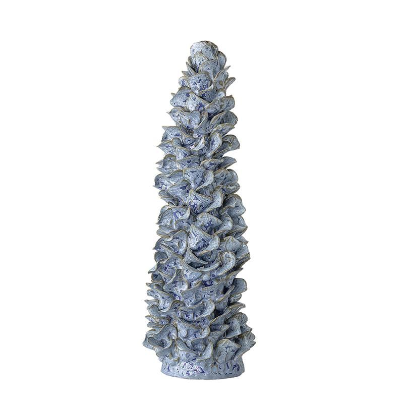 BLOOMINGVILLE Blue Coral Sculpture - Tall