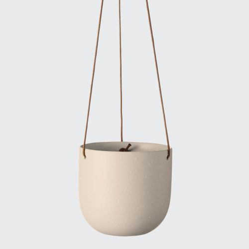 EVERGREEN COLLECTIVE Cade Hanging Pot - Small - Dusk.