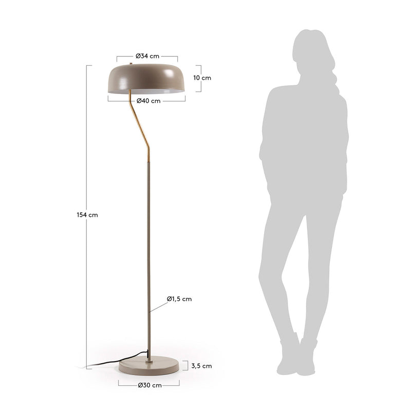 Versa Floor Lamp Dimensions