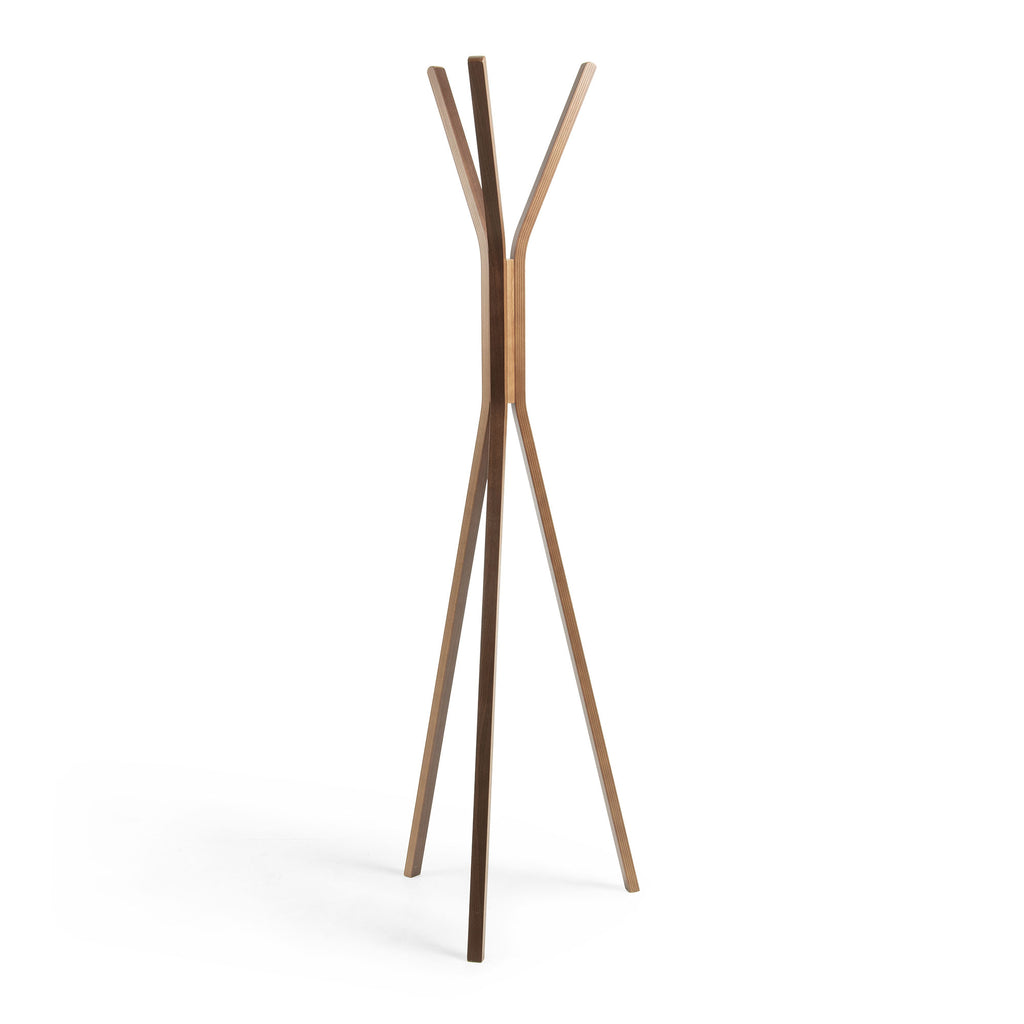 La Forma Benzara Coat Rack - Walnut