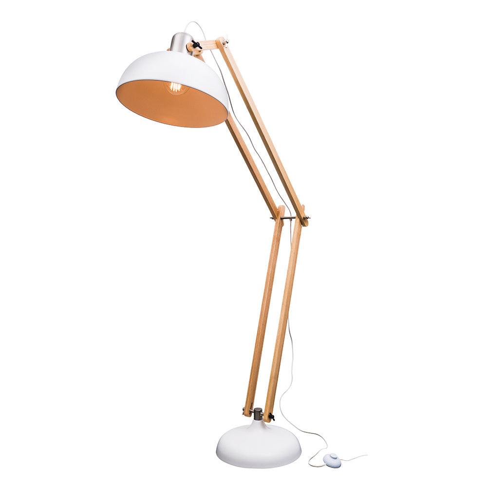 Aksel Floor Lamp - White