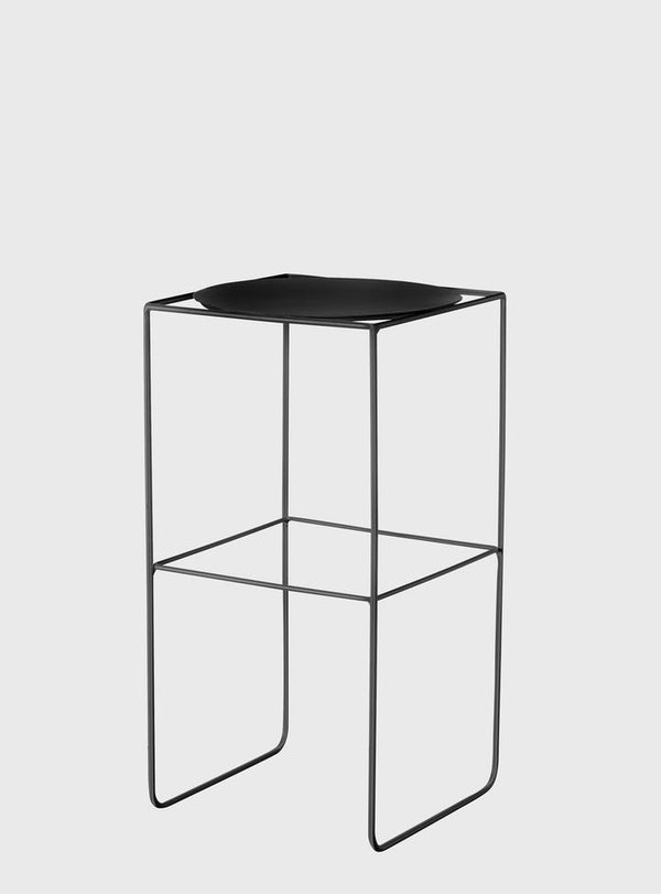 EVERGREEN COLLECTIVE Alto Pot Stand - Tall - Charcoal