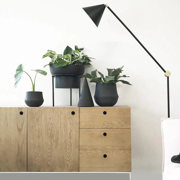 MRD HOME Ana Planter - Black - Small