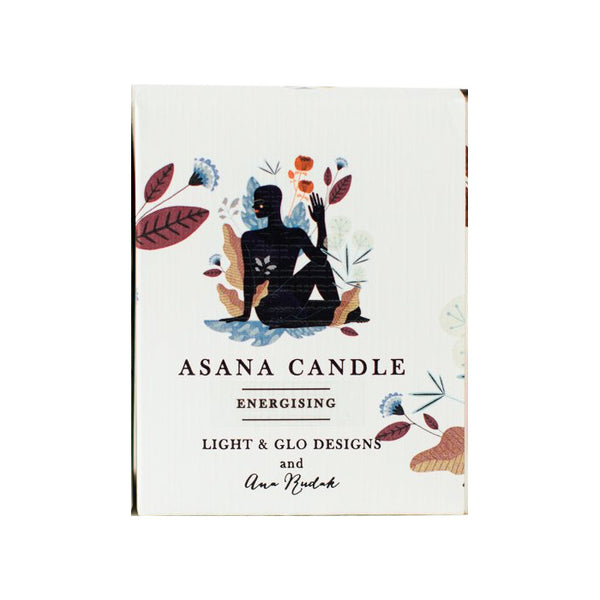 Asana Candle - Energising 40hr Soy Wax Candle