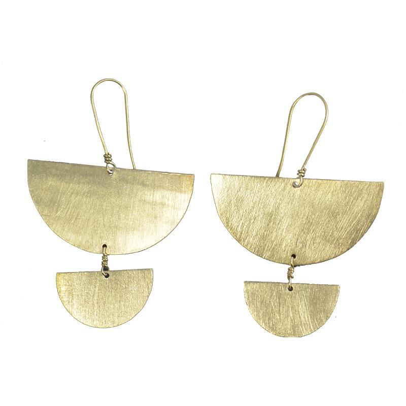 MELANIE WOODS - Fan Drop Earrings