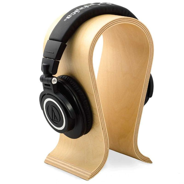 Bentwood Headphone Stand