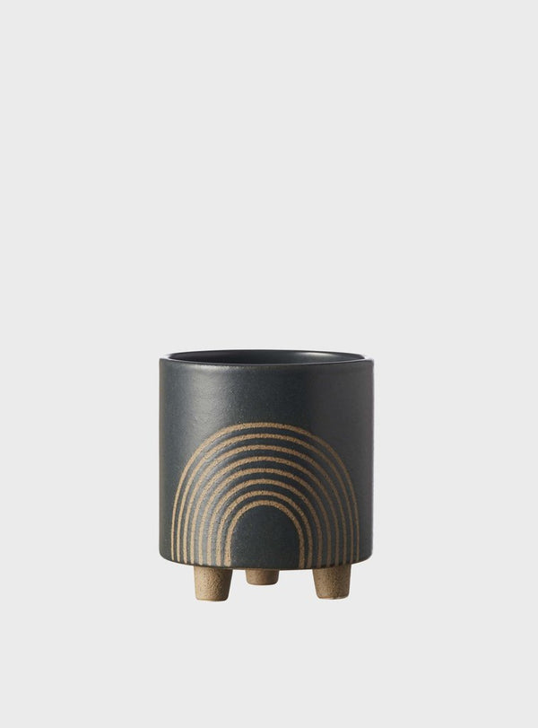 EVERGREEN COLLECTIVE Birch Pot - Small - Slate