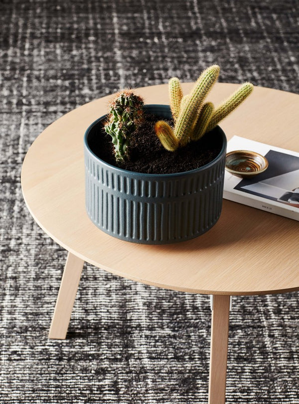 EVERGREEN COLLECTIVE Birch Pot - Wide - Slate