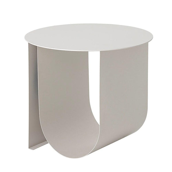 BLOOMINGVILLE Cher Side Table, White Powdercoat