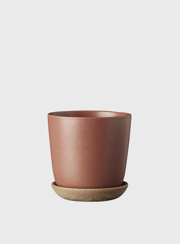EVERGREEN COLLECTIVE Bonnie Pot - Brick - Mini