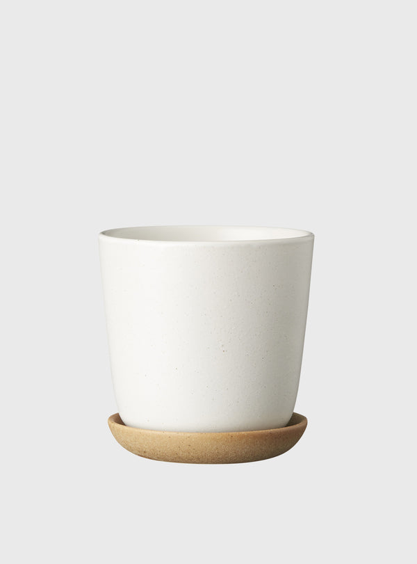 EVERGREEN COLLECTIVE Bonnie Pot - Chalk - Small