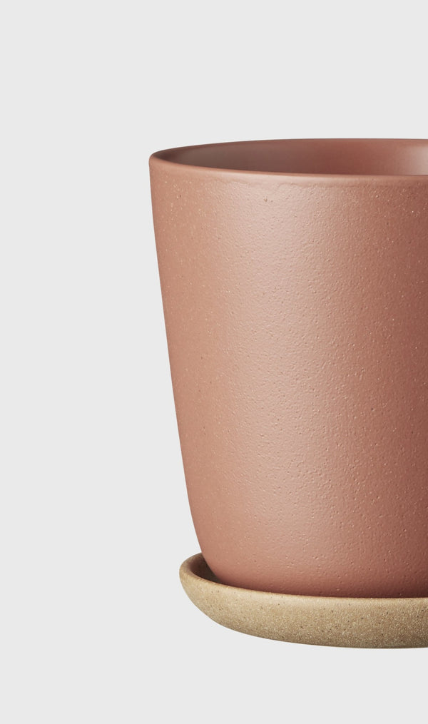 EVERGREEN COLLECTIVE Bonnie Pot - Brick - Medium