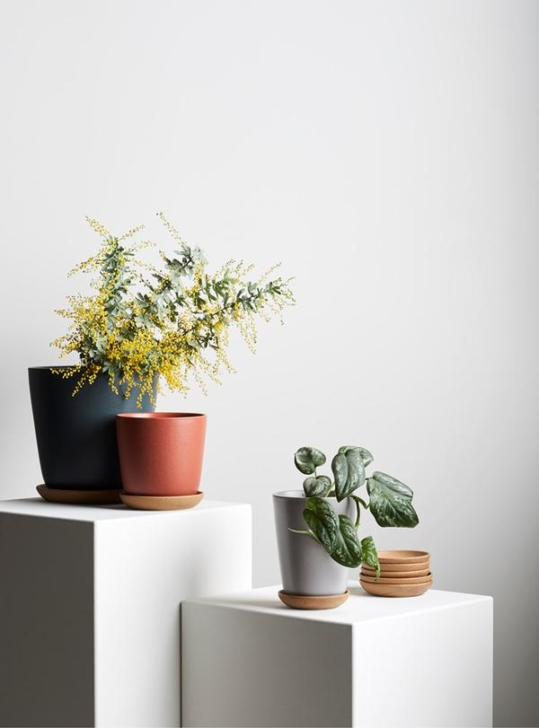 EVERGREEN COLLECTIVE Bonnie Pot - Slate - Tall