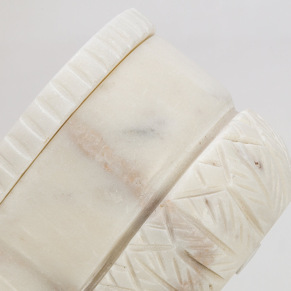 Casablanca Dual Pinch Pot - Marble