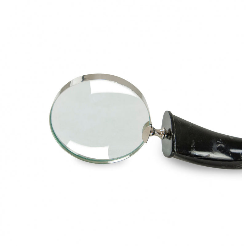 Horn & Nickel Magnifying Glass - Large
