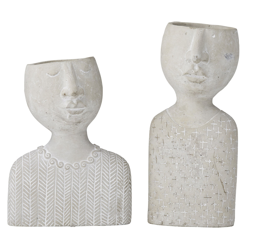 Emilie & Emile Planter - Set of 2