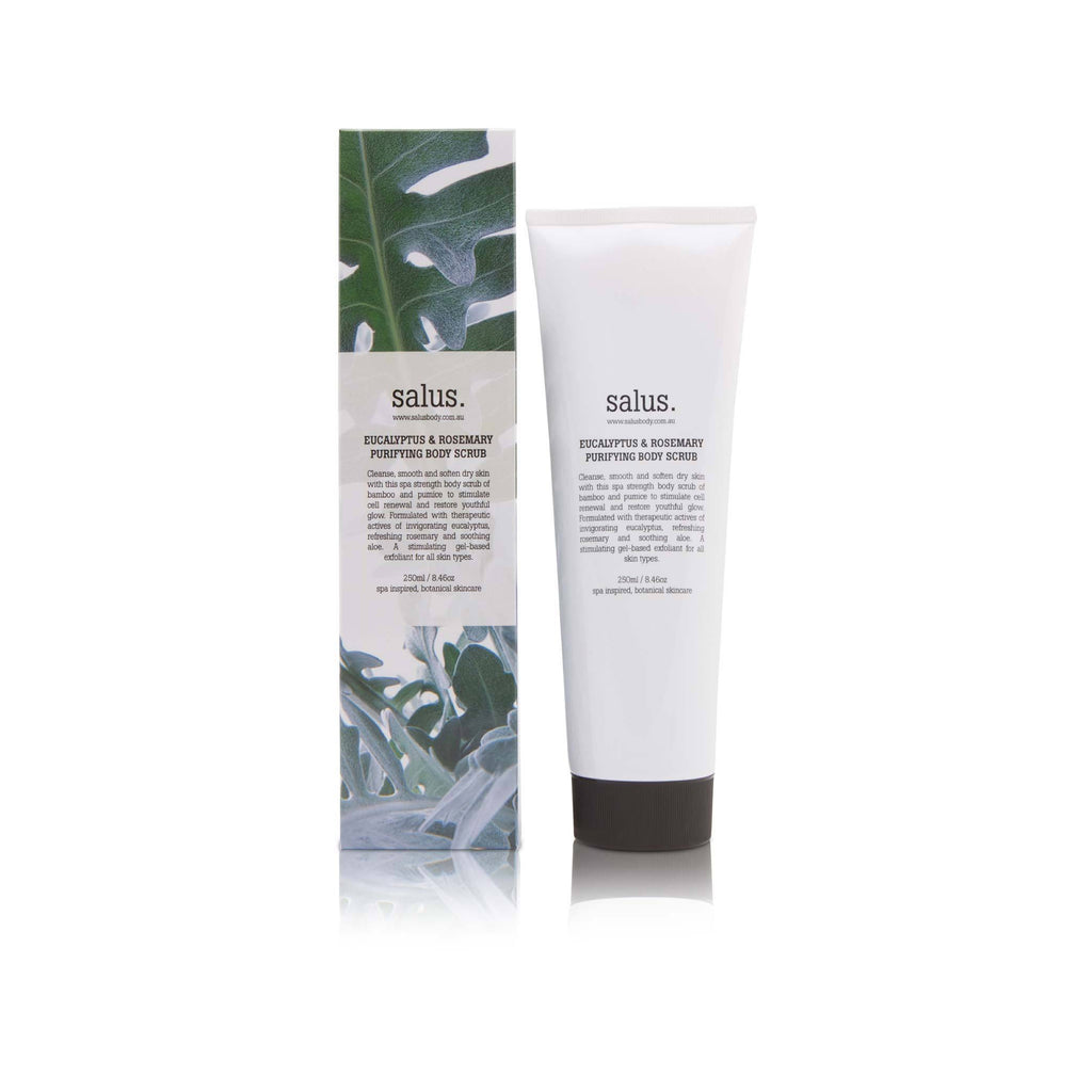SALUS Eucalyptus & Rosemary Purifying Body Scrub