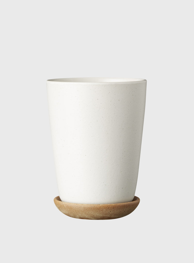 EVERGREEN COLLECTIVE Bonnie Pot - Chalk - Tall