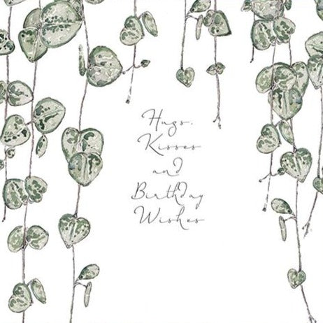 Hugs & Kisses & Birthday Wishes Card