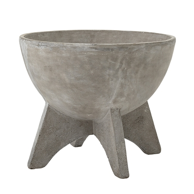 Bloomingville Concrete Flowerpot - Low
