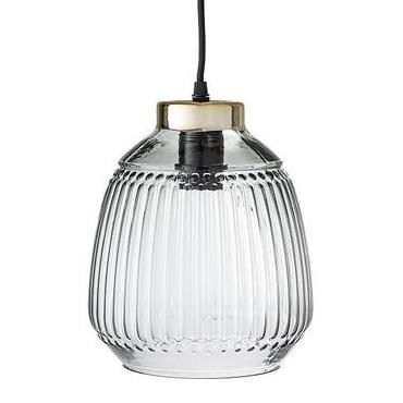 BLOOMINGVILLE Green Glass Pendant Light