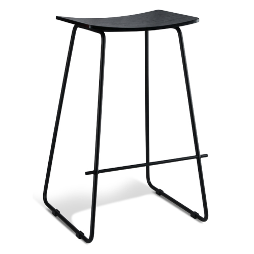 Chicago Bar Stool - Black