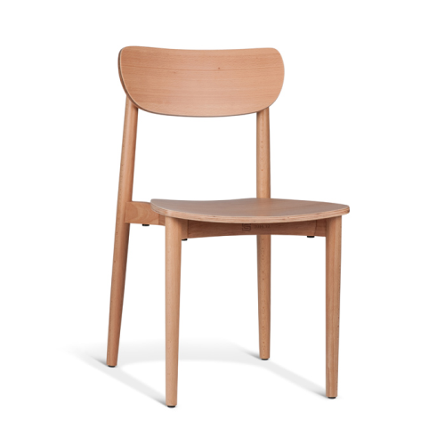 Dane Dining Chair - Natural Ash Scandinavian Dining Chairs at Rodwell and Astor