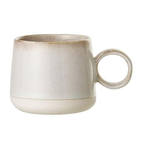 Bloomingville Carrie Mug - Cream Stoneware
