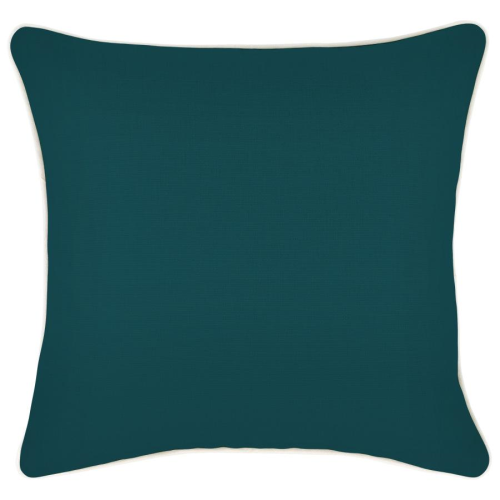Alfresco Cushion - Teal with Piping