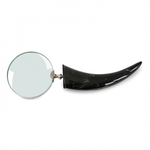 Horn and Nickel Magnifying Glass - Rodwell and Astor