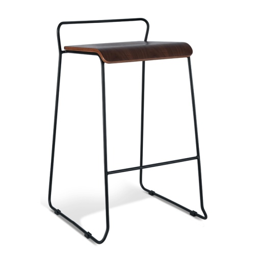 Brooklyn Stool 750 - Walnut