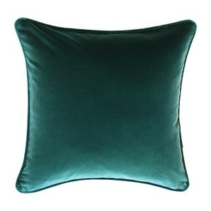 Alfresco Cushion - Velvet Kale with Piping
