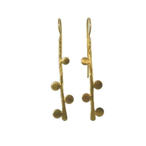MELANIE WOODS - 4 Bubble Hook Earrings