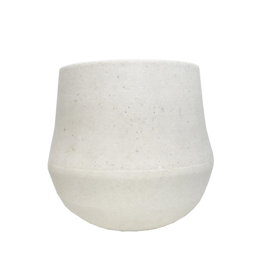 MRD HOME Ana Planter - Chalk - Small