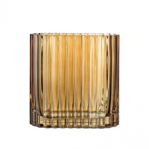 Bloomingville Amber Glass Vase - Small