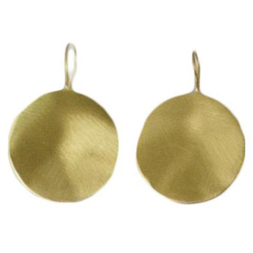 MELANIE WOODS - Disc Drop Hook Earrings