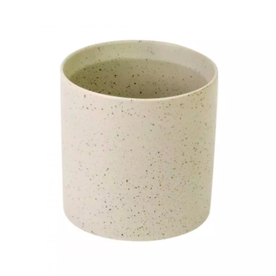 Ceramic Plant Pot - 120mm - Speckled Grey