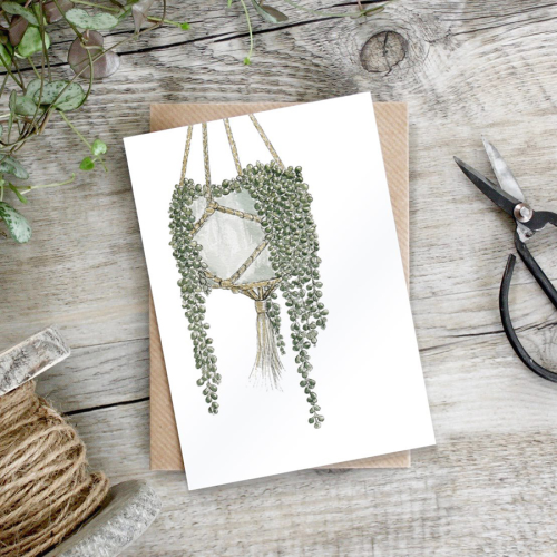 String of Pearls - Botanical Gift card