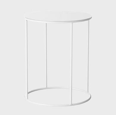EVERGREEN COLLECTIVE Lotus Pot Stand - Short - White