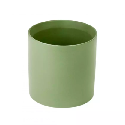 Ceramic Plant Pot - 65mm - Olive Green