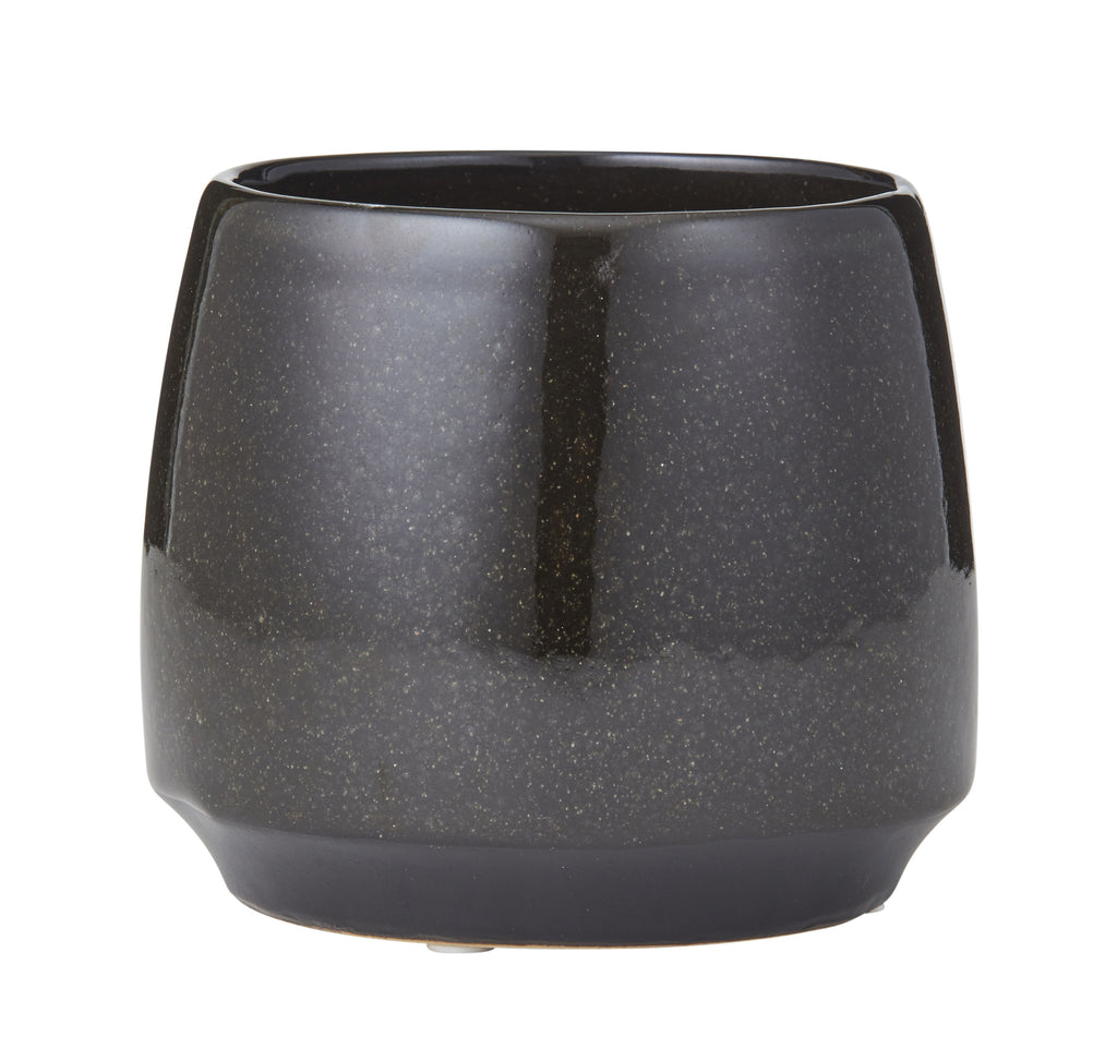 Ceramic Gianna Pot - Black
