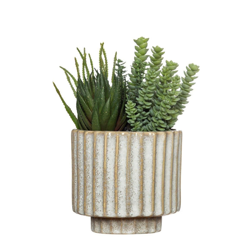Gigi Planter - Medium - Cream
