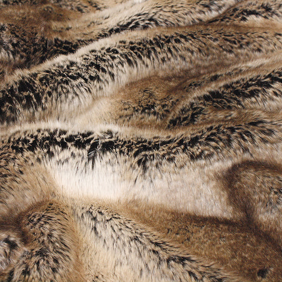 HEIRLOOM Faux Fur Throw - Sable