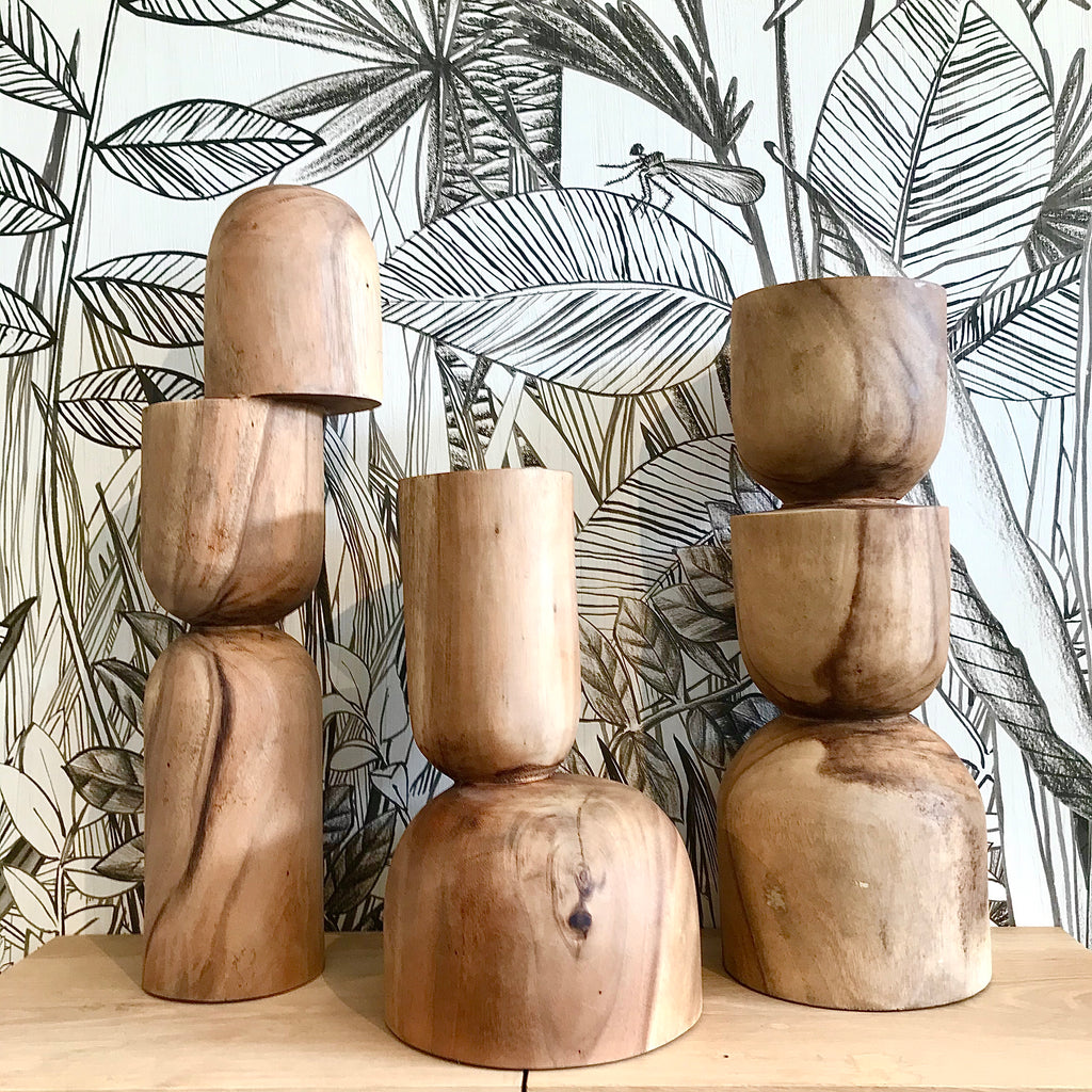 Clem Sculpture Family - Natural - Low