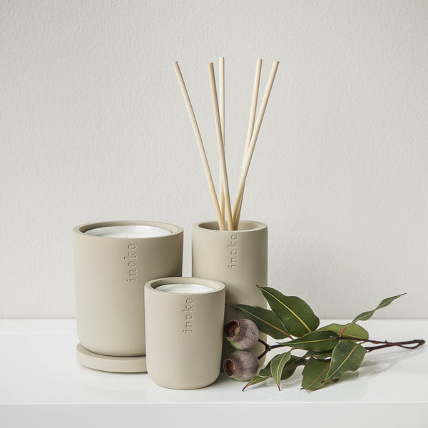 INOKO Concrete Candle Vessel - Collection