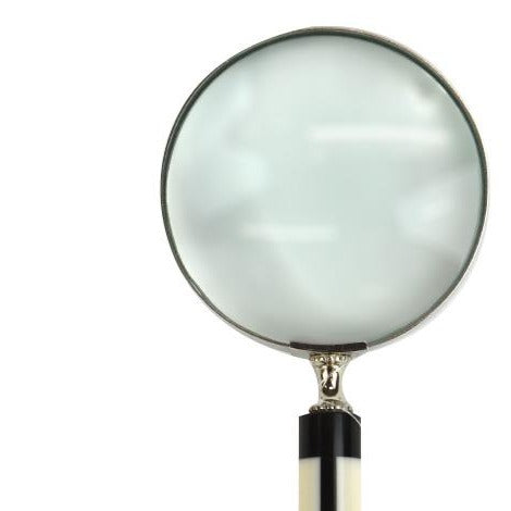 Crowley Black and White Magnifying Glass